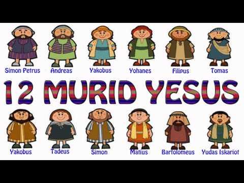Lagu Rohani Kristen - 12 MURID YESUS