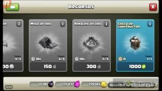 Gemas gratis? Pos no clash of clans el cuarto constructor