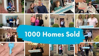 1000 Homes Sold in Kentucky and Ohio
