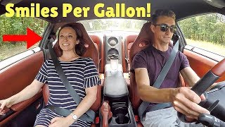 GIRLFRIEND Reacts To Nissan GT-R LAUNCH CONTROL!