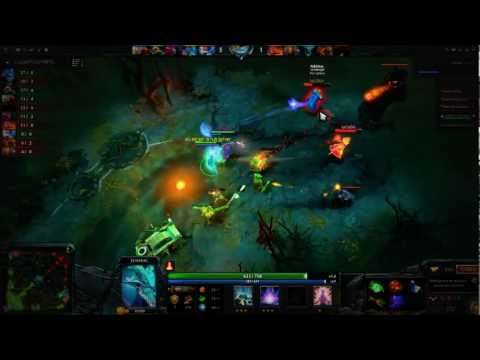 Dota 2 game for Leshrac by eu server is rus server RAMPAGE