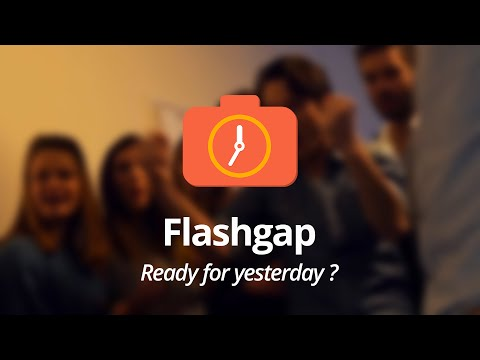 Flashgap Hides Photos From Your Night Out Until the Next Day