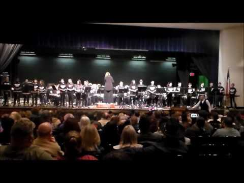 Keefer Crossing Middle School Band Christmas Concert - 12/6/16