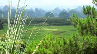 YangShuo ! (HD) Li River, YuLong River bamboo rafting and cruise plus cycling and hot-air balooning