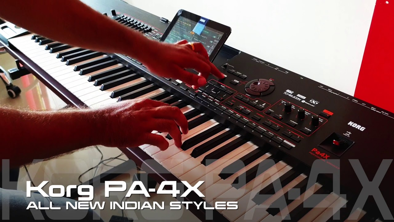 KORG PA4X ALL NEW INDIAN SYLES DEMO 2019   9033773457