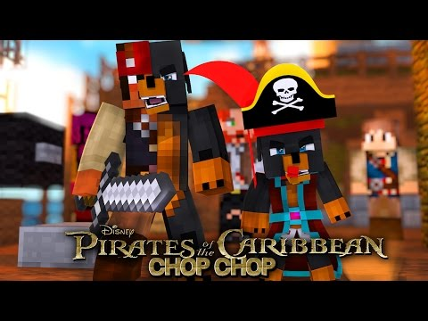 Minecraft CHOP CHOP - PIRATES OF THE CARIBBEAN SPECIAL CHOP CHOP - Donut the Dog Minecraft Roleplay