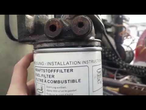 Фильтр грубой очистки маз газовоз. Подсос воздуха.