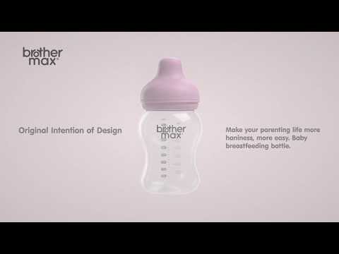 Extra-wide neck Feeding Bottle 240ml/8oz