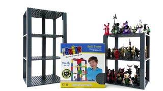 LEGO Minifiguren platzsparend aufbewahren mit Strictly Briks - Brik Tower