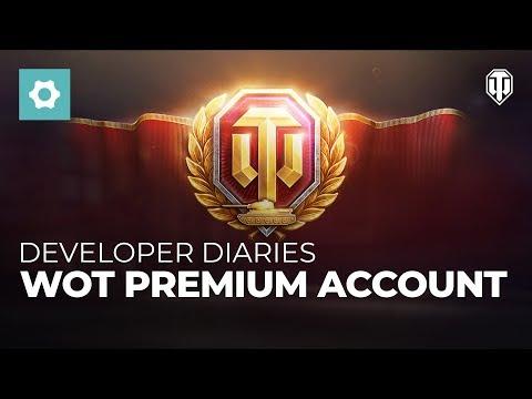 Developer Diaries: WoT Premium Account