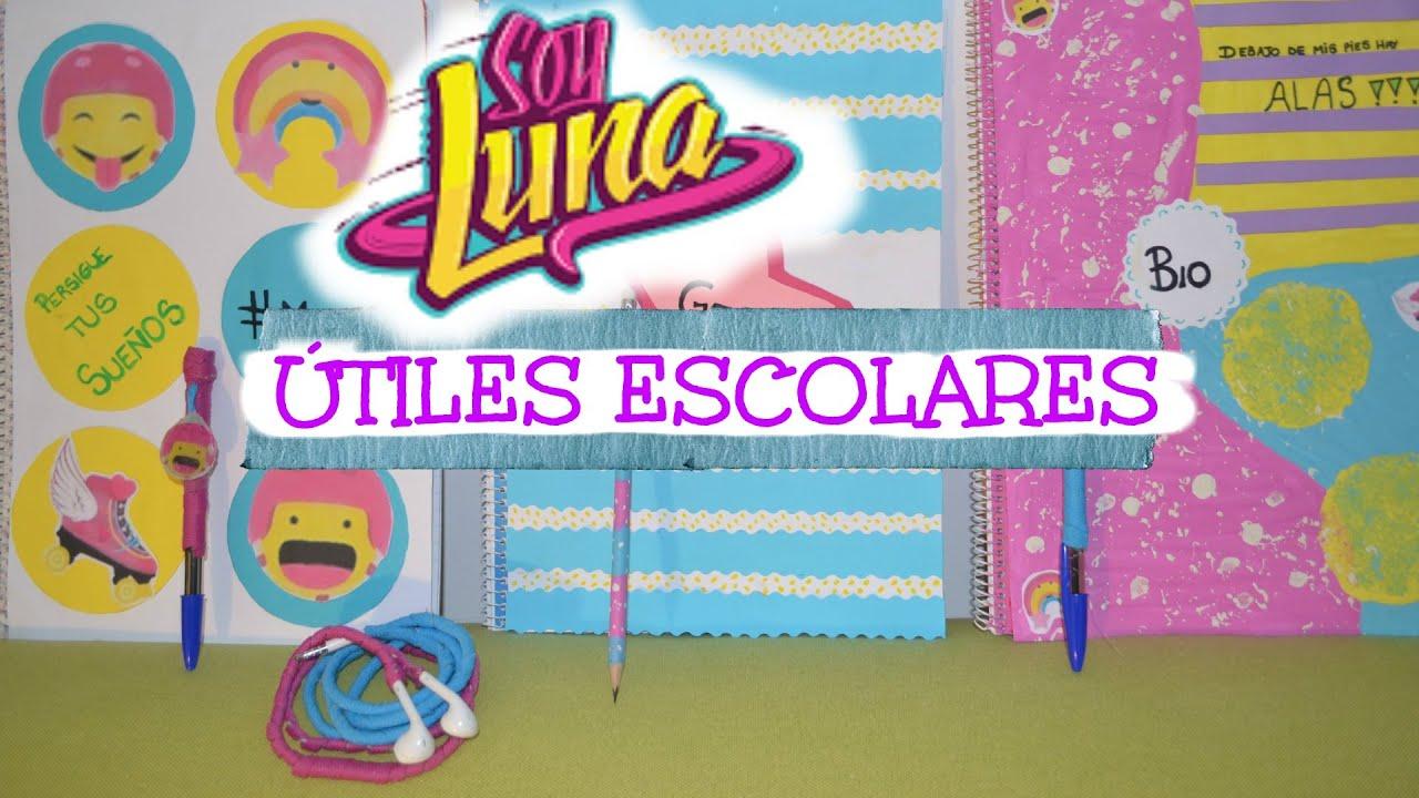 Soy luna tiles escolares diy school supplies parte 1 youtube solutioingenieria Choice Image