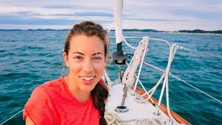 The LAKE MICHIGAN Crossing | Sailing Soulianis - Ep. 10