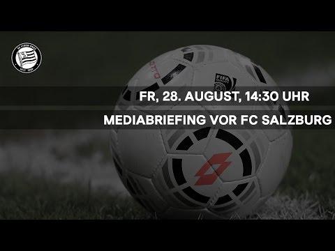 LIVE: Mediabriefing vor FC Red Bull Salzburg (7. Runde 2015/16)