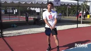 Pickleball Quick Tip: The Two Handed Backhand