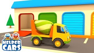 Rettungsfahrzeuge! 🚚 🚒 Die Straße ist kaputt! ⛔ #Zeichentrickfilm mit #Spielzeugautos