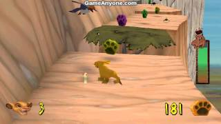 The Lion King: Simba's Mighty Adventure (PS1) - Part 1 (Pride Rock)