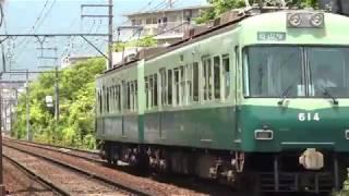 京阪600形613F京阪膳所~石場通過