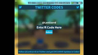 NEW 3 CODES MVP Island Royale - ROBLOX