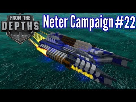 From The Depths | Ep 22 | Speedy Water Skimmer! | Neter Campaign Gameplay