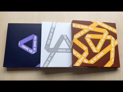 ♡Unboxing Seventeen 세븐틴 6th Mini Album You Made My Dawn (Before Dawn, Dawn & Eternal Sunshine Ver.)♡