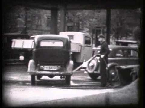 Tankstelle 30er jahre youtube for Lampen 40er jahre