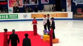 2010・12・11グランプリファイナル・チャイナ。男子表彰式。小塚選手中...