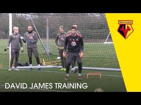 DAVID JAMES | Former Hornet In Watford Training