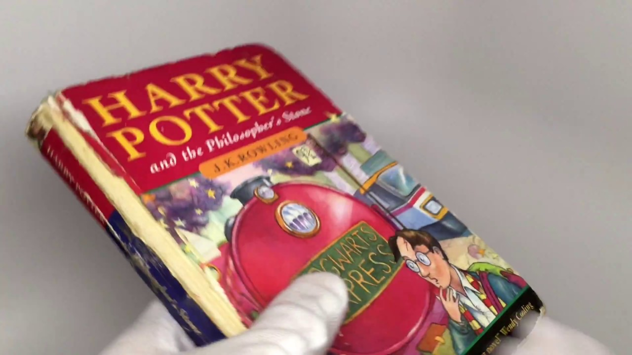 Harry Potter Book Jackets For Sale : Harry potter and the philosopher s stone hardcover first
