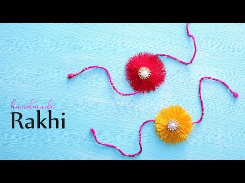 How to make Rakhi | Silk Thread Rakhi | Raksha Bandhan