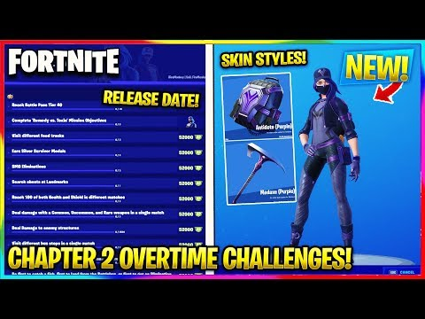 fortnite:-*new*-chapter-2-overtime-challenges!-|-release-date,-skin-styles-|-fortnite-battle-royale