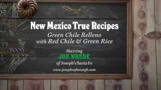 New Mexico True Recipes: Joseph's New Mexican Green Chile Relleno