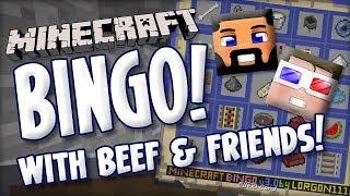 MINECRAFT BINGO w/ VintageBeef & Friends! - Solo Match