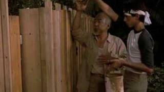 Karate Kid Lesson 4 (paint The Fence)
