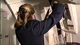 Canadian Airlines DC10 Flight Attendant Training Video