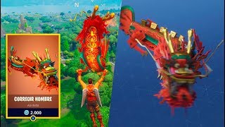 PRIMER Paracaídas LEGENDARIO! Fortnite: Battle Royale (Dragón Chino)