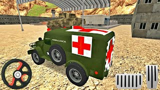 US Army Ambulance Driving Game : Transport Games - Android Gameplay 2020 screenshot 4