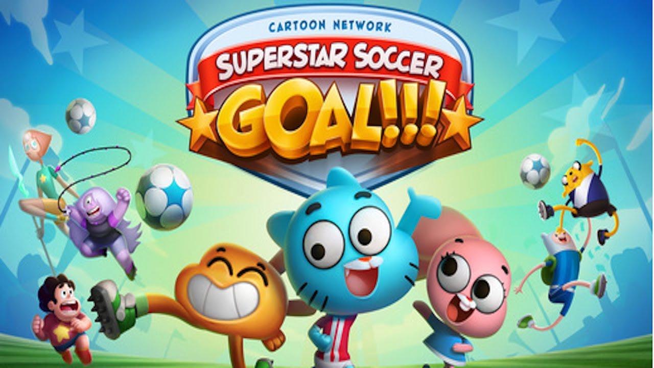 CARTOON NETWORK SUPERSTAR SOCCER GOAL   GOOOOAAAAAAL ...