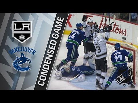 12/30/17 Condensed Game: Kings at Canucks