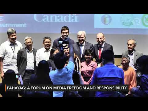 WATCH: Media Freedom and Responsibility Forum