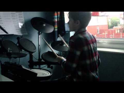F-777 - Deadlocked - Drum Cover