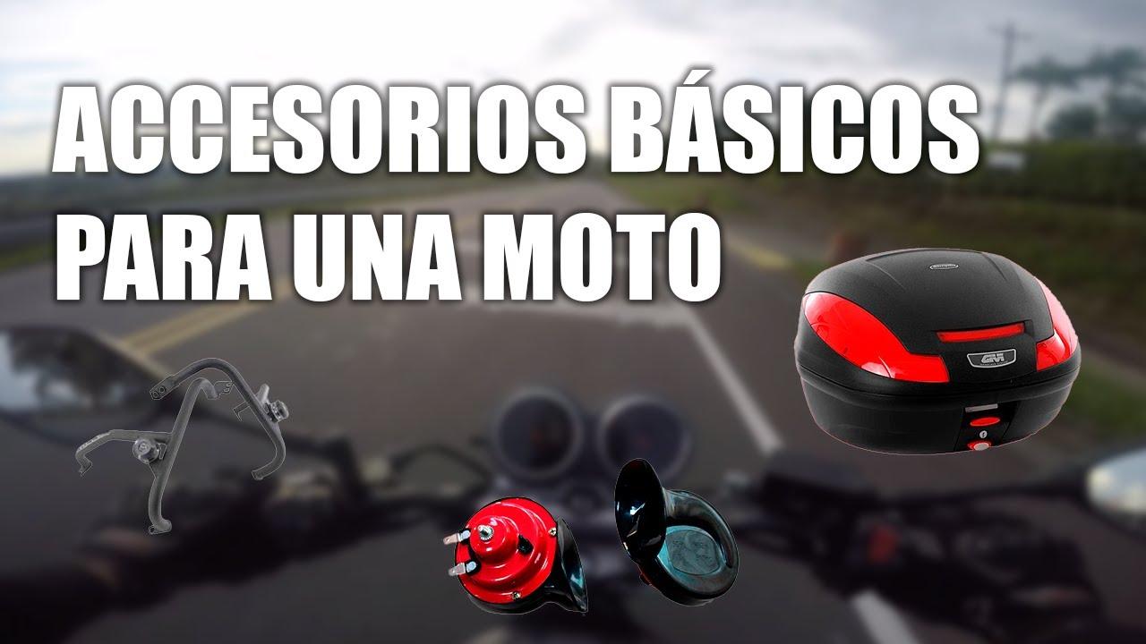 7311ada5fe0 Accesorios básicos para una moto - YouTube