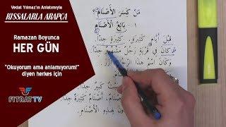 Kıssalarla Arapça (3. Bölüm)
