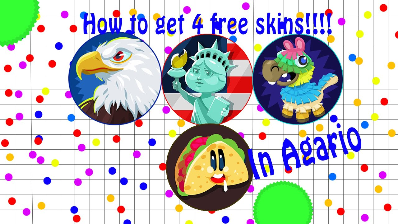 Agario Skin Hack! // How TO GET SKINS FOR 1 COIN! JULY/AUGUST 2016