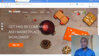 how to open payoneer account and earning withdrawal