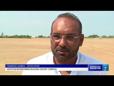 Houston businessman building cricket complex