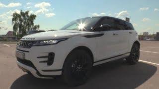 2019 Land Rover Range Rover Evoque.  Обзор (интерьер, экстерьер, двигатель).