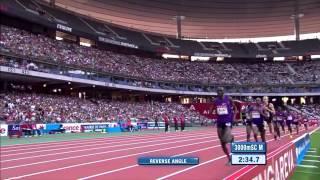 Diamond League Paris 2015   3000m obstaculos masculinos