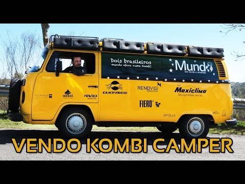 KOMBI CAMPER À VENDA!