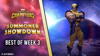 Marvel Contest of Champions: Summoner Showdown | Best of Week 3!
