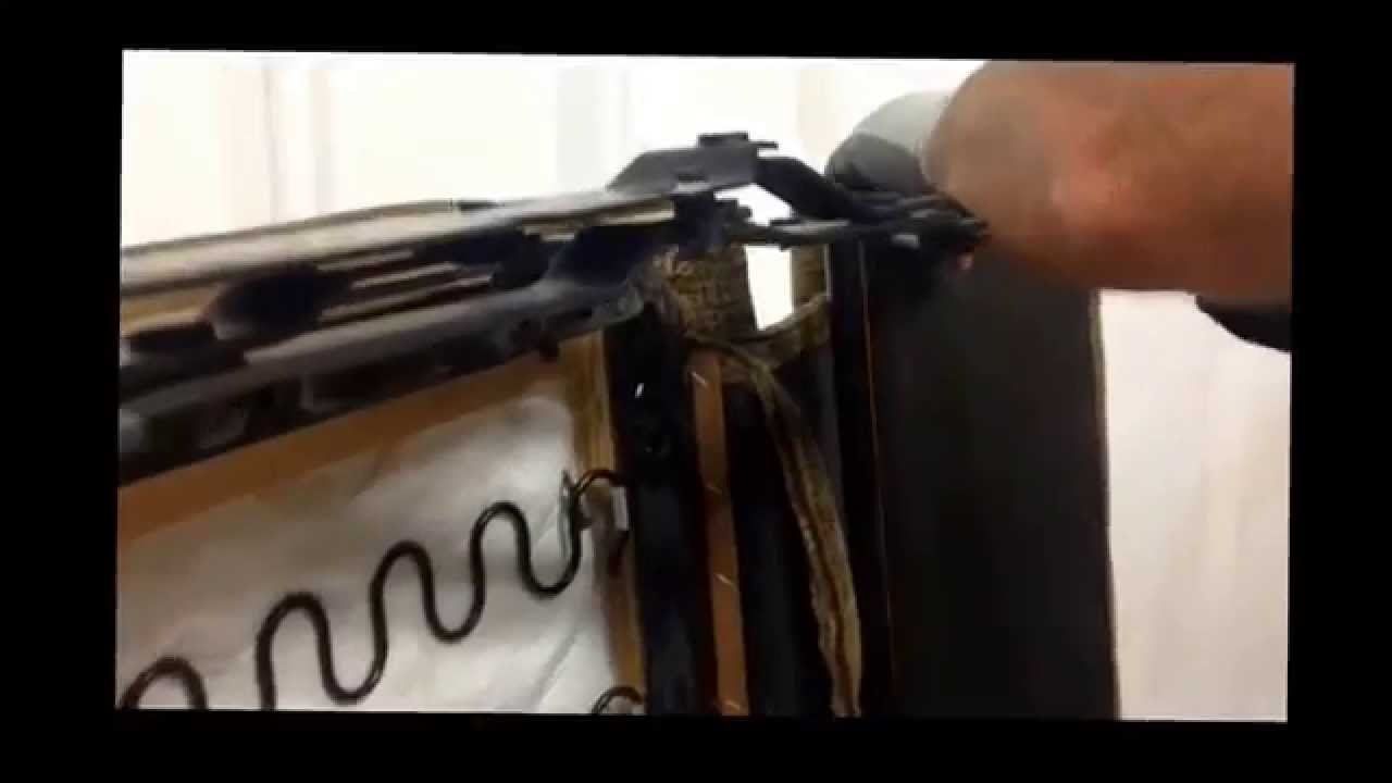 power lift chair repair old rocking catnapper recliner replace scissor mechanism in a - youtube